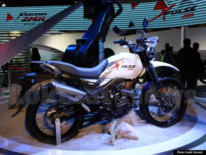 Hero XPulse Off-roader Makes India Debut At Auto Expo 2018 | Auto Expo 2018: Hero ने पेश की ऑफ-रोडर बाइक XPulse, जानें क्या है इसकी खासियत