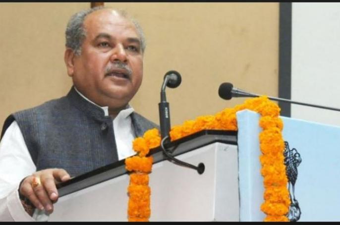 lok sabha election 2019 central minister narendra singh tomar attack cm mamata banerjee. | तोमर ने कहा, बंगाल में तृणमूल कांग्रेस का आधार खिसक रहा है, हार नजदीक है, सहन नहीं कर पा रही हैंममता बनर्जी