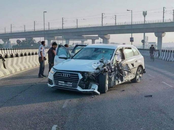 Rajasthan jaipuraudi car girl Speed 100 Hitspeeding Audiman bounces rooftop nearby housediessixty feet distance | 100 की रफ्तार,ऑडी चला रही लड़कीने बाइक सवार को मारी टक्कर, साठ फीट दूरी तक उछला, छत पर गिरा, मौत, वीडियो वायरल