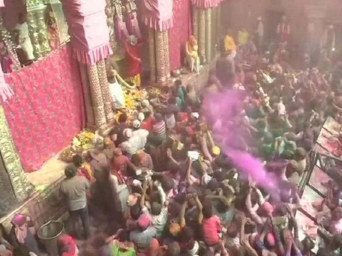 holi celebration across india president ramnath kovind and pm modi wishes   मथुरा समेत पूरे देश में होली की मस्ती, राष्ट्रपति कोविंद और पीएम मोदी ने दी शुभकामना, केजरीवाल नहीं खेलेंगे होली