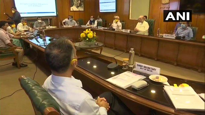 Coronavirus Delhi Home Minister Amit Shah emphasised adoption testing using Rapid Antigen Test Kits transmission rate | कोविड-19ःरैपीड एंटीजन टेस्ट किट का उपयोग पर जोर, आरोग्य सेतु और इतिहास ऐप का प्रयोग करें