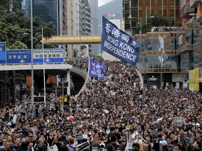China is facing protest in hongkong against extradition law | हांगकांग बढ़ रहा है बड़े आन्दोलन की ओर, चीन के खिलाफ गुस्सा उफान पर पहुंचा