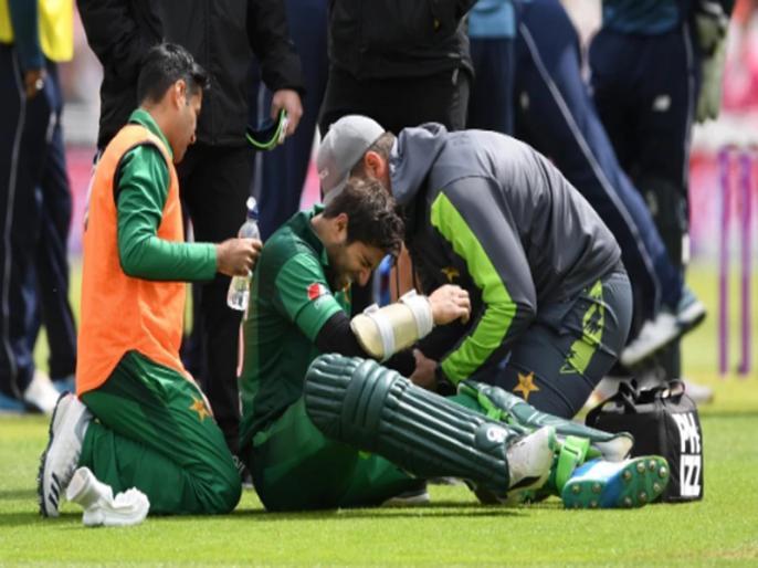 England vs Pakistan, 4th ODI: Imam UL Haq got injured during match | World Cup से ठीक पहले पाकिस्तान के लिए बुरी खबर, बैटिंग करते चोटिल हुए इमाम उल हक