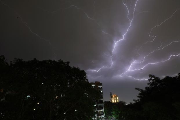 Madhya Pradesh bhopal Weather update Alert issued heavy rain and lightning warning | मौसम अपडेटःमध्य प्रदेश में अलर्ट जारी,भारी बरसात और बिजली गिरने की चेतावनी