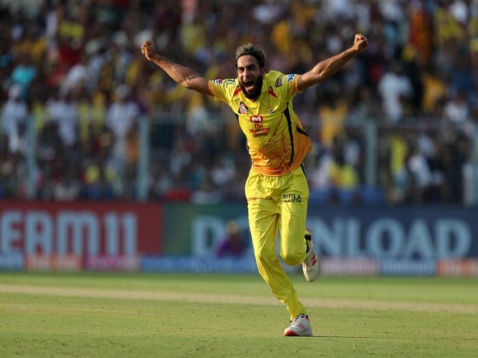 IPL 2019, KKR vs CSK: imran tahir clinched the purple cap | IPL 2019, KKR vs CSK: इमरान ताहिर का जलवा, विकेट चटकाने के मामले में बने नंबर-1