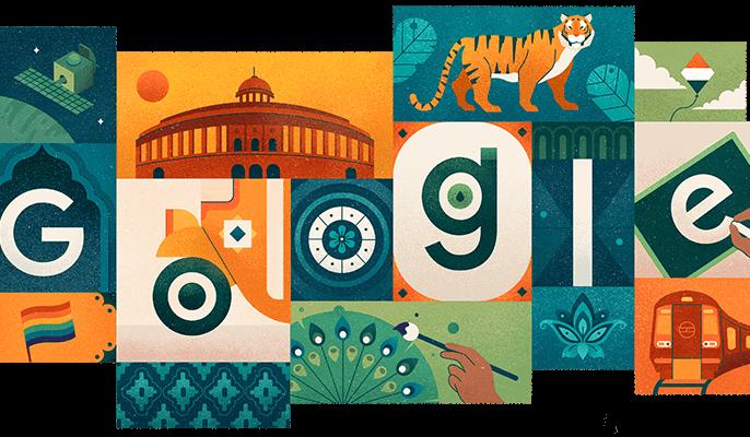 Google Wishes India A Happy Independence Day With A Doodle | Google ने स्वतंत्रता दिवस पर Doodle को भारतीय संस्कृति, मूल्यों और विकास को समर्पित किया