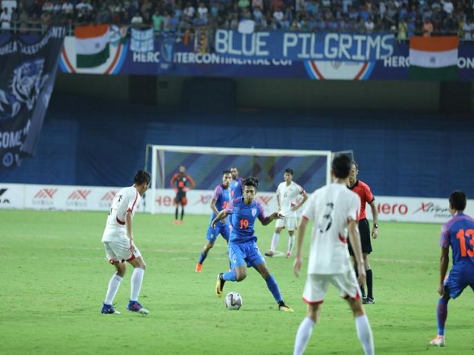 Intercontinental Cup: India lose 2-5 to North Korea | इंटरकॉन्टिनेंटल कप: भारतीय फुटबॉल टीम को उत्तर कोरिया ने 2-5 से दी मात