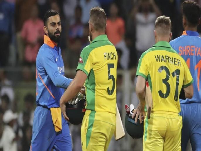 India vs Australia, 2nd ODI at Rajkot, India lost their both odis at Rajkot   IND vs AUS: टीम इंडिया के लिए अनलकी रहा है राजकोट का मैदान, मंडराया सीरीज गंवाने का खतरा