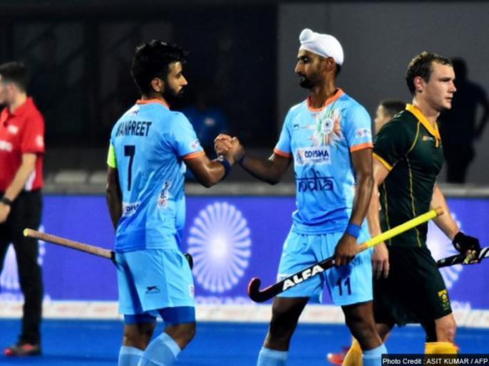 Hockey World Cup: India aim to win against Belgium to confirm quarter final berth | हॉकी वर्ल्ड कप: भारत के सामने बेल्जियम की मुश्किल चुनौती, नजरें जीत के साथ क्वॉर्टर फाइनल पर