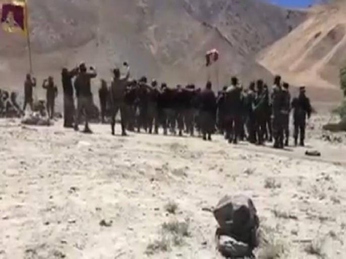 Fact Check: Indian soldiers celebrating after entering Chinese border, here truth of video viral   Fact Check: चीनी सीमा में घुसने के बाद जश्न मना रहे भारतीय सैनिक, जानें क्या है सोशल मीडिया पर वायरल हुए वीडियो की पूरी सच्चाई?