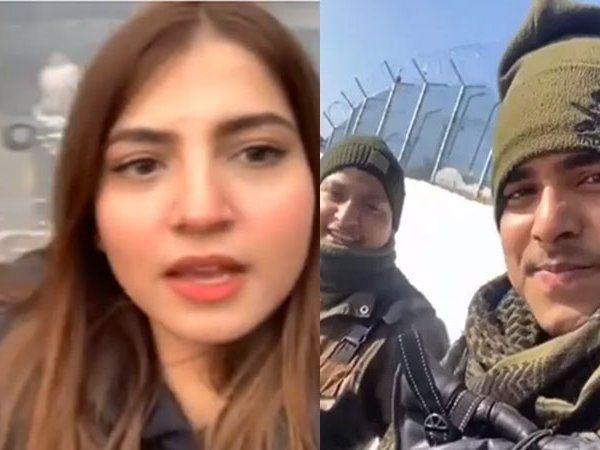watch indian Jawans join 'pawri ho rahi hai' challenge   पाकिस्तानी लड़की के Pawri हो रही है वीडियो के बाद अब भारतीय सेना के जवान बोले- ये हम हैं, ये हमारी गन हैं...