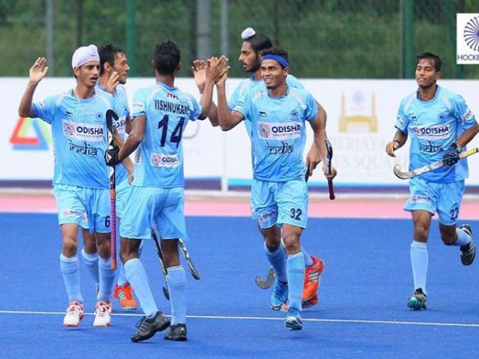 Sultan Johor Cup: India and Britain play 3-3, final tomorrow   सुल्तान जोहोर कपः भारत और ब्रिटेन ने 3-3 से ड्रा खेला, फाइनल कल