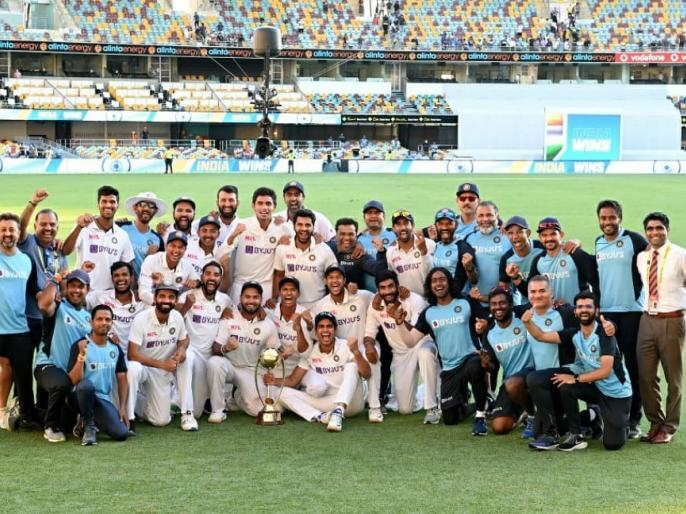 india vs australia brisbane gabba pm narendra modisuccess Indian Cricket TeamCongratulations | Ind vs Aus टेस्ट: पीएम मोदी का ट्वीट-टीम इंडिया को बधाई,हम सभी उत्साहित,प्रदर्शन ऊर्जा और जुनून से लबरेज