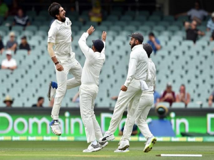 Ishant Sharma becomes third Indian pacer after Kapil Dev, Zaheer to take 50 wickets vs Australia | Ind vs AUS: इशांत शर्मा ने ऐडिलेड टेस्ट में किया कमाल, बने ये खास कारनामा करने वाले तीसरे भारतीय पेसर