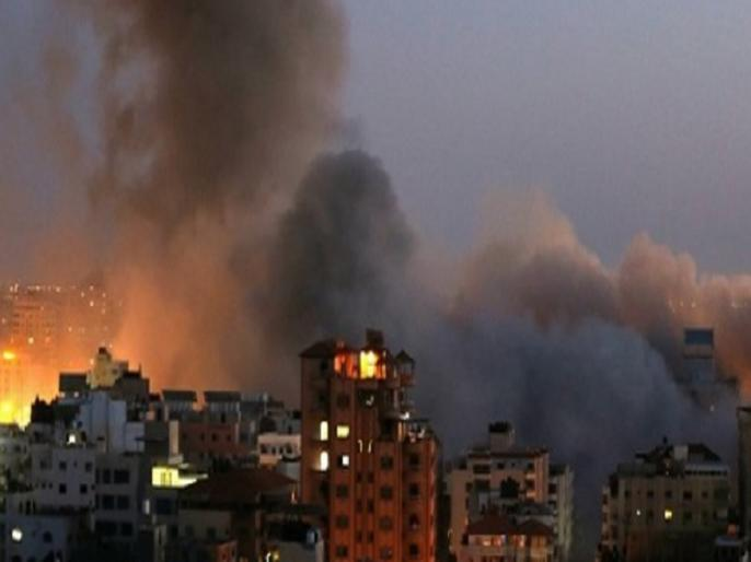 Israeli attacks against Hamas killed 28 people, including children | इजराइल के हमले में 32 फिलिस्तीनियों की मौत, हमास ने जवाब में दागे सैकड़ों रॉकेट, भारतीय महिला की गई जान