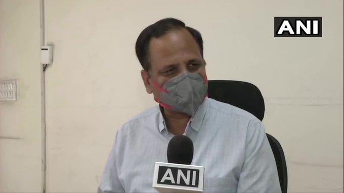 Coronavirus Delhi lockdown Delhi Minister Satyendar Jain tests negative COVID19 discharged hospital today | दिल्ली के स्वास्थ्य मंत्री सत्येन्द्र जैन का कोरोना वायरस टेस्ट नेगेटिव, अस्पताल से छुट्टी