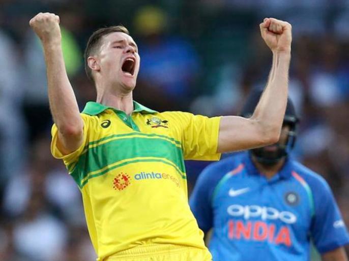 India vs Australia: Jason Behrendorff joked about taking a wicket in odi debut, did same in sydney ODI | IND vs AUS: इस ऑस्ट्रेलियाई तेज गेंदबाज ने सिडनी वनडे से पहले किया था ये 'मजाक', मैच में हो गया सच