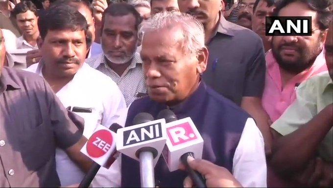 Bihar: Tejashwi raised the issue of unemployment, so Jeetan Ram Manjhi said - how many people got jobs under your parents' rule? | बिहार: तेजस्वी ने उठाया बेरोजगारी का मुद्दा, तो जीतन राम मांझी बोले- आपके माता-पिता के शासन में कितनों को मिली नौकरी?
