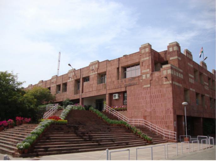 jnu campus college administration students pakoda fine Narendra Modi Amit Shah | PM मोदी और अमित शाह के बयान का विरोध करने के लिए JNU में छात्रों ने तले पकौड़े, पड़ गया भारी