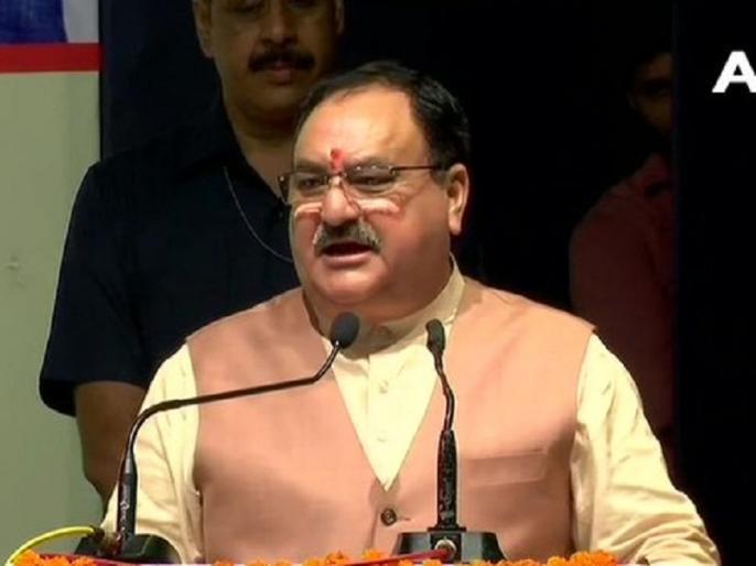 bjp president jp nadda attacks on Telangana government | तेलंगाना सरकार पर बरसे बीजेपी अध्यक्ष नड्डा, कोविड-19 प्रबंधन की निंदा की