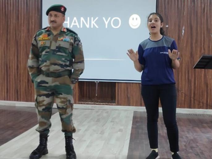 IAF Womn Combat Pilot jubiksha Thakur is new Inspiration for Jammu Kashmir Girls, Sharing Experience | भारतीय वायुसेना की लड़ाकू पायलट जुबिक्शा ठाकुर लड़कियों में भर रहीं कुछ कर गुजरने का जोश