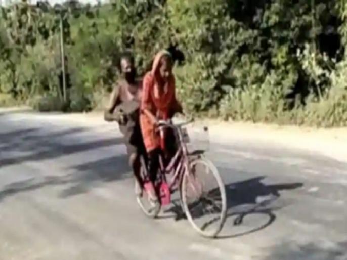Ravi Shankar Prasad asks kiren Rijiju for help of girl who takes father 1200 kilometers by bicycle | पिता को साइकिल से 1200 किलोमीटर ले जाने वाली ज्योति कुमारी के लिए केंद्रीय मंत्री रविशंकर की सिफारिश- साइक्लिस्ट की ट्रेनिंग दी जाए