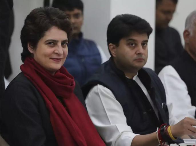 Jyotiraditya Scindia made the support of Chief Minister Kamal Nath, say, Digvijay Singh contested from BJP's occupied seat | ज्योतिरादित्य सिंधिया ने किया मुख्यमंत्री कमलनाथ का समर्थन, कहा- भाजपा के कब्जे वाली सीट से चुनाव लड़ें दिग्विजय सिंह