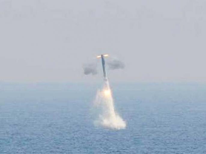 Ballistic missile K-4 test, firepower 3,500 km, in Pakistan and China JD, know the specialty   बैलिस्टिक मिसाइल के-4 कापरीक्षण, मारक क्षमता3,500 किमी,पाकिस्तान और चीन जद में, जानिए खासियत