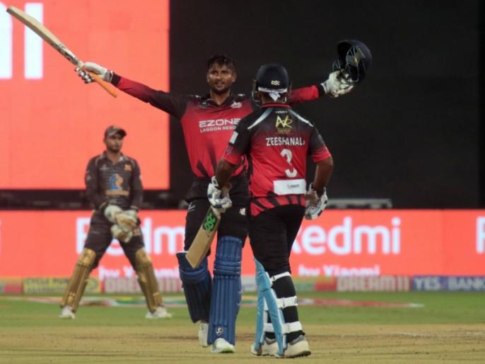 I enjoyed my girlfriend smiling, says Krishnappa Gowtham after scoring hundred and taking 8 wickets in KPL   इस भारतीय क्रिकेटर ने एक ही मैच में जड़ा शतक, लिए 8 विकेट, पर कहा, 'गर्लफ्रेंड की स्माइल ज्यादा एंजॉय की'