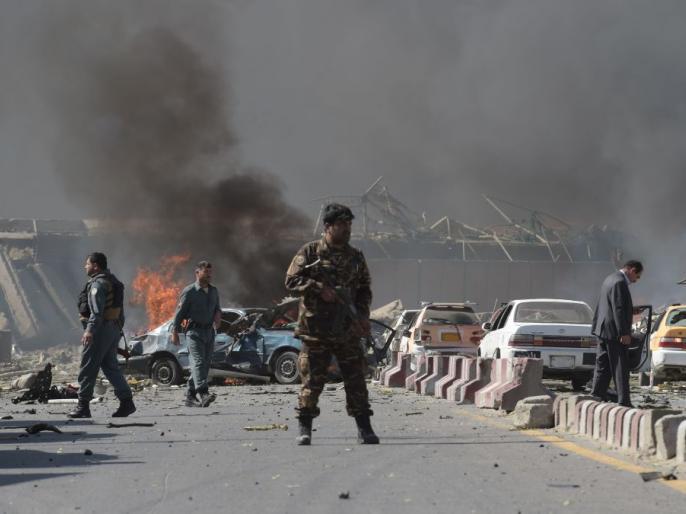 Afghanistan kabul10 civilians killed bomb attackpolicemen Taliban attack   अफगानिस्तानःकाबुल में शिक्षण केंद्र के बाहर विस्फोट,10 लोगों की मौत,स्कूली बच्चों समेत आठ अन्य घायल