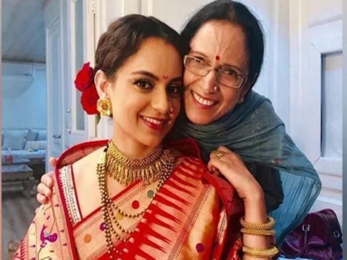 bollywood actress Kangana Ranaut mother quits Congress joins BJP Thanks pm narendera modi | BJP में शामिल हुईं कंगना रनौत की मां आशा रनौत, PM नरेंद्र मोदी और अमित शाह का किया धन्यवाद