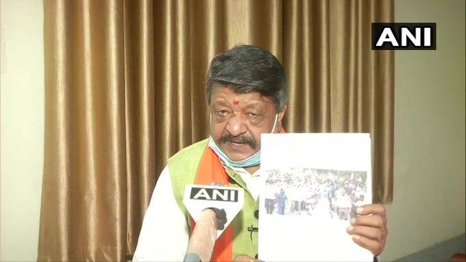 West BengalKailash VijayvargiyaMukul Rai registered rioting and violation of epidemic act   पश्चिम बंगाल: कैलाश विजयवर्गीय, मुकुल राय परदंगा करने और महामारी अधिनियम का उल्लंघन का मामला दर्ज, जानिए प्रकरण