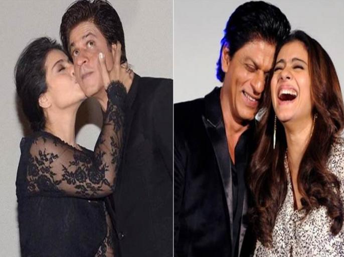 when shahrukh khan kiss kajol on dilwale set video goes viral | VIDEO: जब गलती से शाहरुख खान ने कर लिया था काजोल को किस, हैरान रह गए थे सभी