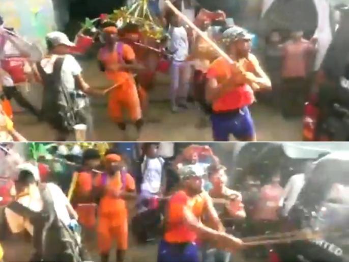 Bulandshahr: Six Kanwariyas including main accused Pappu arrested in connection with attack on Police vehicle   UP: बुलंदशहर में कांवड़ियों के तांडव मामले में मुख्य आरोपी सहित 6 गिरफ्तार