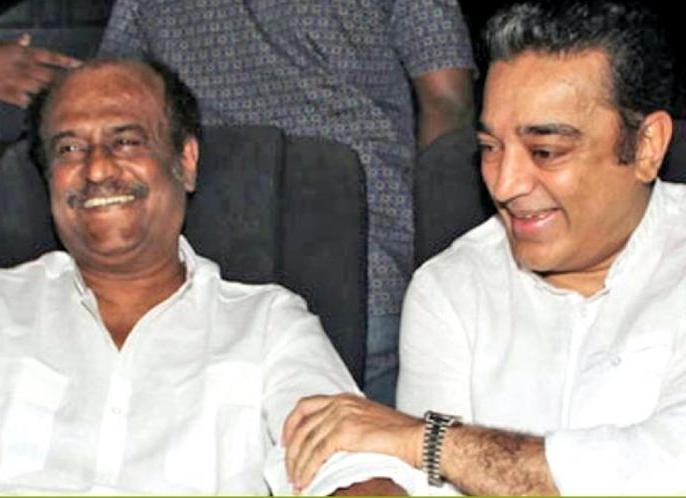 Kamal Haasan on Rajinikanth: Our friendship is continuing for last 44 years | एक्टर से नेता बने कमल हासन ने रजनीकांत से 40 साल की दोस्ती का किया जिक्र, कहा- जरूरत पड़ने पर हो सकते हैं एकजुट