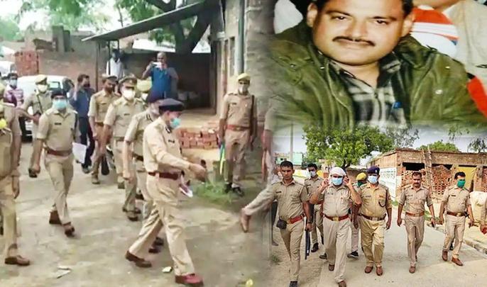 kanpur encounter vikas dubey update internal enmity of police led to 8 policemen dead | Kanpur Encounter: पुलिस के बीच आपसी 'रंजिश' के कारण हुआ कानपुर कांड! इस नए खुलासे से अब उठ रहे हैं सवाल