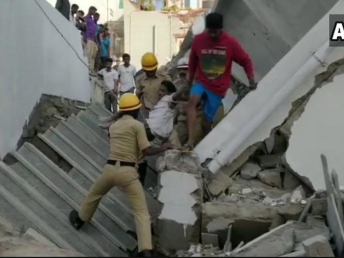 Karnataka: Building on Kasuvanahalli's Sarjapur road collapses, People suspected to be trapped | कर्नाटक: कसुवानाहल्ली में बड़ा हादसा, इमारत गिरी, कई लोगों के दबे होने की आशंका