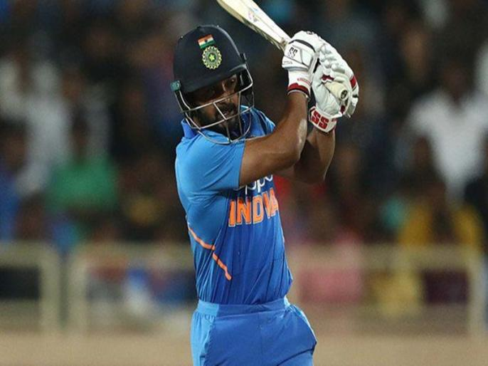 Kedar Jadhav hit 84 run just 45 ball help Maharashtra won by 8 wkts in Syed Mushtaq Ali Trophy   केदार जाधव की धमाकेदार पारी, महज 45 गेंद पर जड़ दिए नाबाद 84 रन, टीम को जिताया मैच