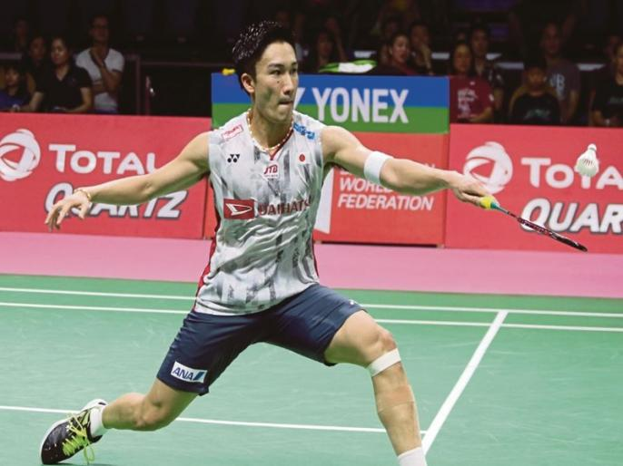Badminton: Kento Momota wins 10th title of 2019 after defending Fuzhou China Open crown   चोउ तिएन चेन को हराकर केंटो मोमोटा ने जीता चाइना ओपन