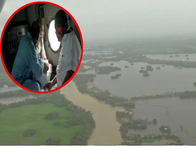 Situation in flood affected Kerala very serious says Rajnath Singh | केरलः गृहमंत्री राजनाथ सिंह ने किया बाढ़ प्रभावित जिलों का हवाई सर्वेक्षण, कहा-स्थिति बहुत गंभीर