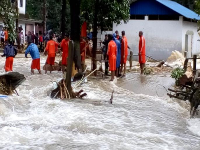 Death toll reaches 37 in flood hit Kerala | केरल में बाढ़ से अब तक 37 लोगों की मौत, 72 घंटे तक रेड अलर्ट जारी