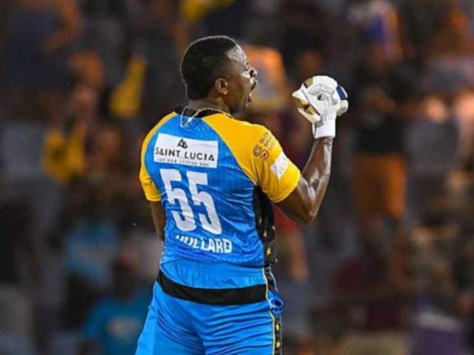 Kieron Pollard scores maiden t20 century, As St Lucia end 15-match losing streak in CPL | कीरोन पोलार्ड ने 54 गेंदों में ठोके 104 रन, सेंट लूसिया को CPL में मिली लगातार 15 हार के बाद पहली जीत
