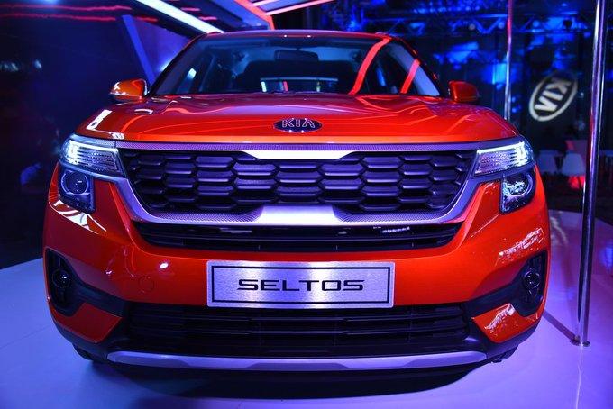 KIA Motors steps up India with SUV Celtos, starts at Rs. 9.69 lakhs | KIA मोटर्स ने एसयूवी सेल्टोस के साथ भारत में रखा कदम, दाम 9.69 लाख रुपये से शूरू