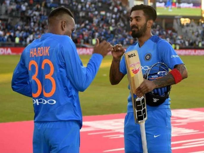 World Cup 2019: I give myself 6 out of 10 - KL Rahul rates his 57 against Pakistan   पाक के खिलाफ 57 रन बनाने वाले केएल राहुल ने खुद को 10 में दिए इतने नंबर, धवन के बारे में भी कही बड़ी बात