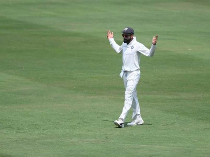 Ind vs Aus: Virat Kohli dancing of ground in Soggy Adelaide, Video got viral on Social Media | Ind vs Aus: फील्डिंग के दौरान डांस करते दिखे विराट कोहली, वीडियो सोशल मीडिया पर वायरल