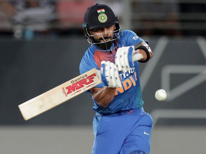 Ind vs NZ, 1st T20: Virat Kohli completed 50 Sixes in T20i as captain | Ind vs NZ: विराट कोहली ने बनाया छक्कों का खास रिकॉर्ड, बने ऐसा करने वाले पहले भारतीय कप्तान