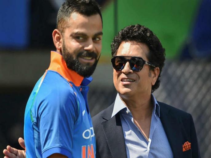 India vs Australia Virat Kohli sets eye on big record of Sachin Tendulkar   IND vs AUS: विराट कोहली के पास सचिन तेंदुलकर का ये बड़ा रिकॉर्ड तोड़ने का मौका, रिकी पोंटिंग को भी छोड़ सकते हैं पीछे