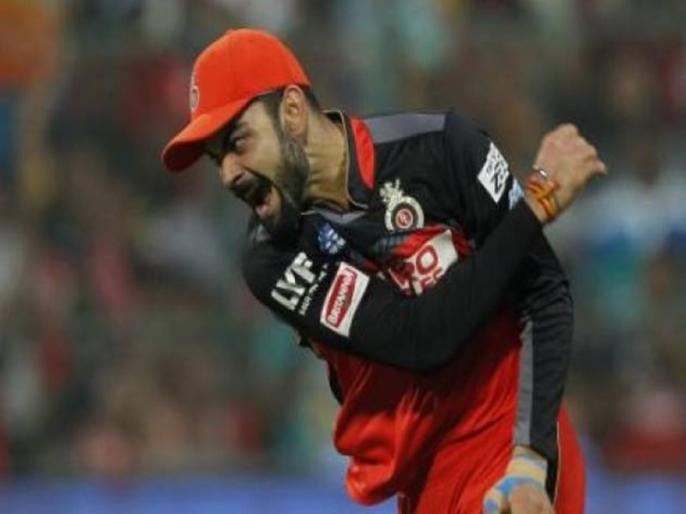 IPL 2021 RCB Captain Virat Kohli reprimanded for code of conduct breach | IPL 2021: आउट होने के बाद विराट कोहली ने गुस्से में आकर कुर्सी पर मारी थी लात, अब मैच रेफरी ने लगाया ये जुर्माना