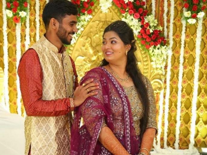 Indian wicketkeeper batsman KS Bharat marries girlfriend, Shares pic | टीम इंडिया के विकेटकीपर बल्लेबाज केएस भरत ने 10 साल डेटिंग के बाद की गर्लफ्रेंड से शादी, इंस्टाग्राम पर शेयर की तस्वीर