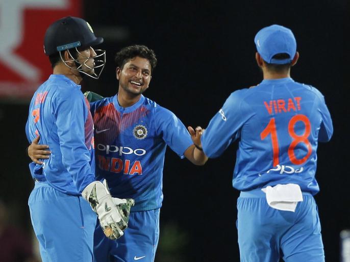 Dhoni understands match situations better than bowlers, says Kuldeep Yadav | कुलदीप यादव ने की धोनी की तारीफ, बताया कौन सी टीमें हैं वर्ल्ड कप जीतने की प्रबल दावेदार